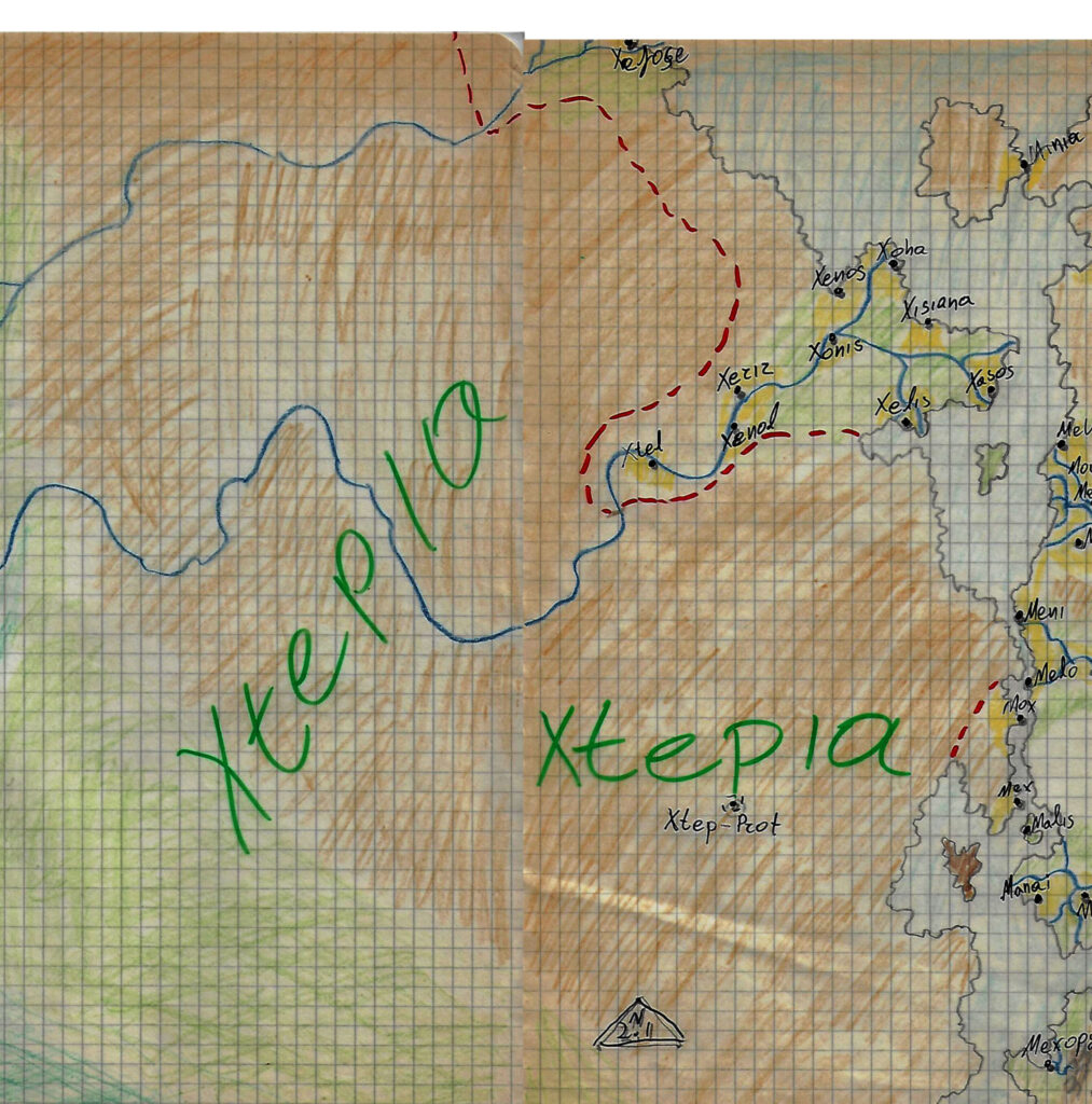 xtepia Xtepia | Western Nomads Grey Dragon World 5E DnD